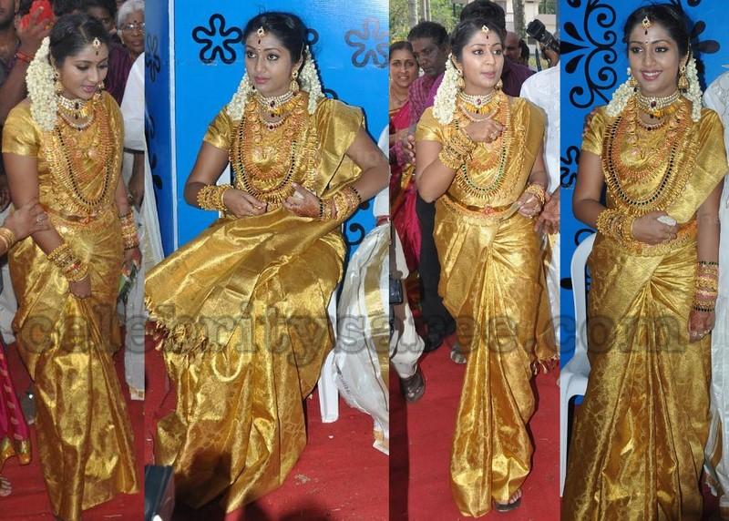 Navya Nair S Bridal Traditional Sarees Saree Blouse Patterns