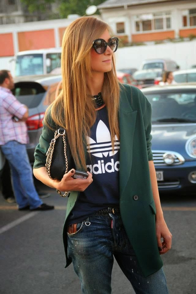 Look shirt adidas