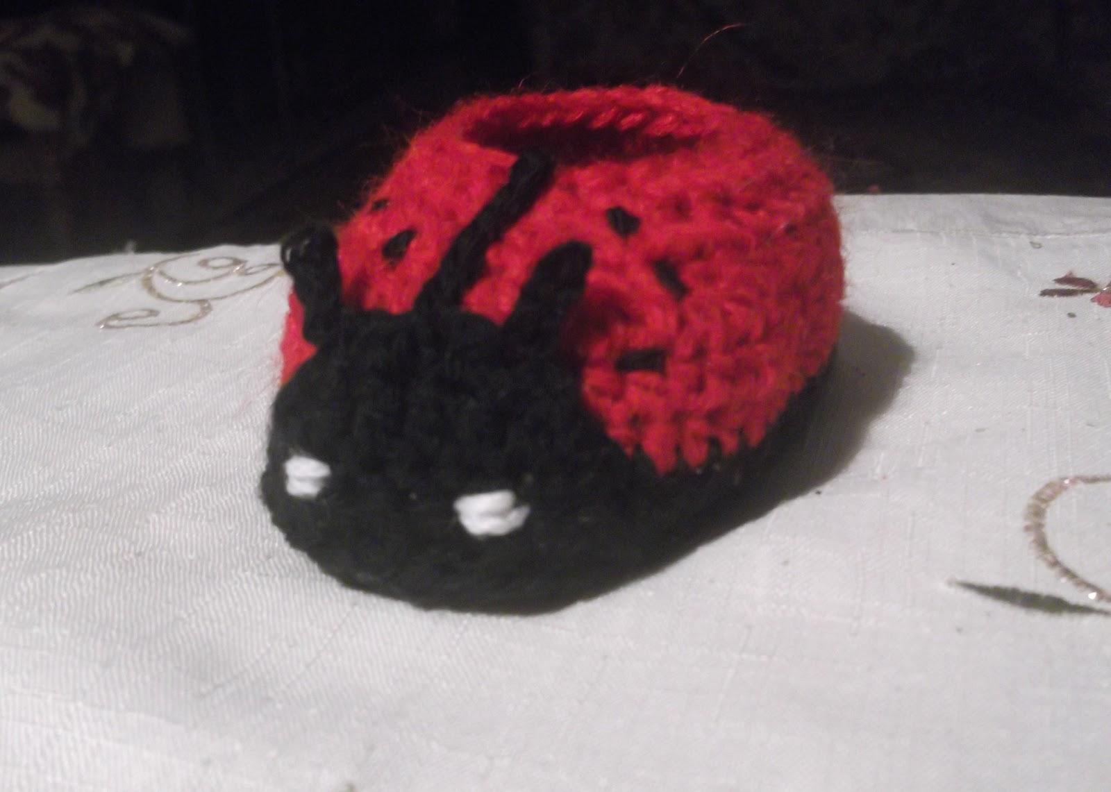 Free Crochet LadyBug Pattern - katbar | Bio