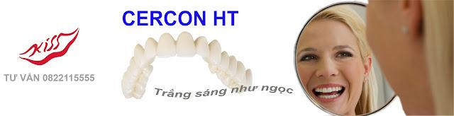Răng sứ Zirconia CerconHT