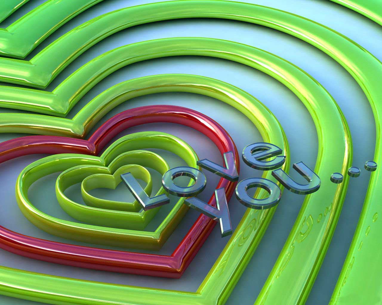 Wallpaper I Love You 3d : Rising In Love: Love 3D