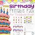 Free Birthday Printable Pack