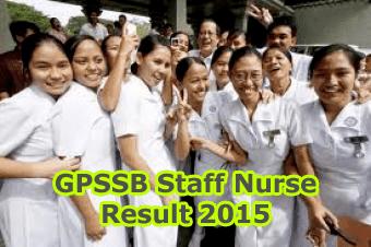 Gujarat Panchayat Service Selection Board Talati Cum Mantri Result 2015, GPSSB Talati cum Mantri Staff Nurse Exam Result 2015, GPSSB FHW/MHW/Clerk/Staff Nurse Re-Exam Merit List 2015 Check at http://panchayat.gujarat.gov.in, GPSSB Staff Nurse Result 2015