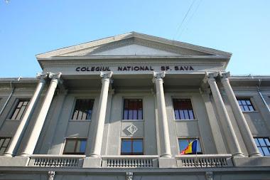 Liceul Nicolae Balcescu sau Colegiul National Sfantul Sava Bucuresti