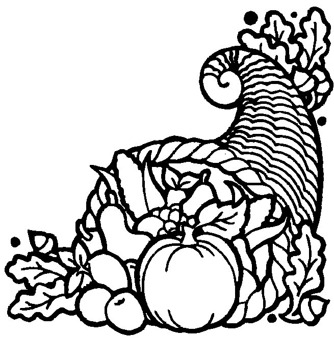 fall thanksgiving coloring pages - photo#22