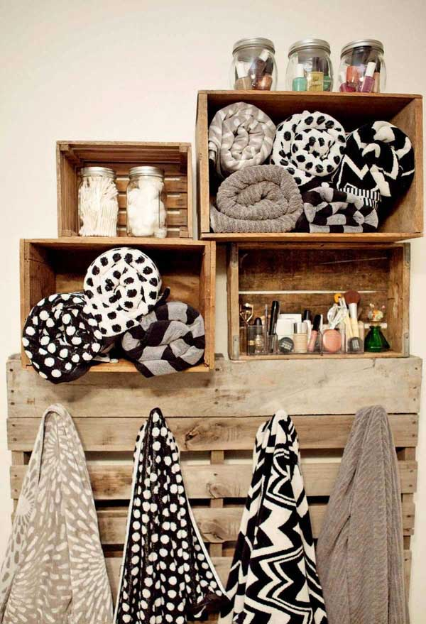 Accesorios De Baño Que No Se Oxiden:want pretty: DECO – Cool bathroom storage/ideas para baños !