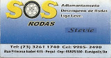 SOS RODAS, Adiamatamento, desempeno de rodas liga leve, cont,(73) 9985-34-90 ou 3261-1740