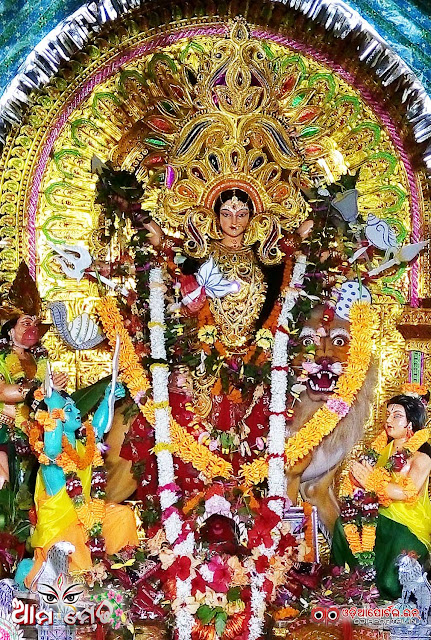 Ama Medha: 50th Annual Bana Durga From Janhia, Salipur, Cuttack - Photo By OdiaPortal Team