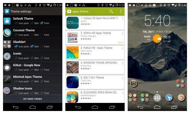 Tampilan Android Nexus Terlihat Keren
