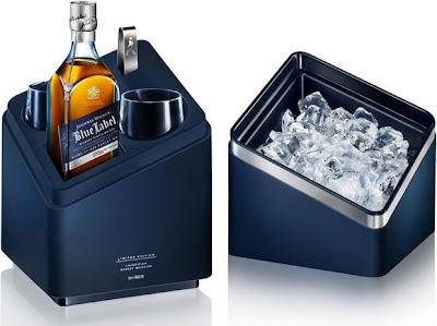 Whisky Johnnie Walker Blue pacote de edição limitada