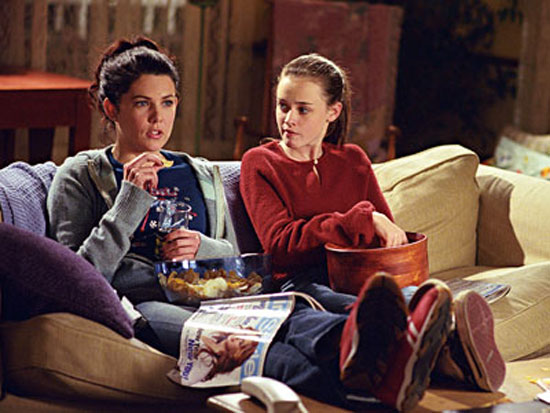 gilmore girls watching television