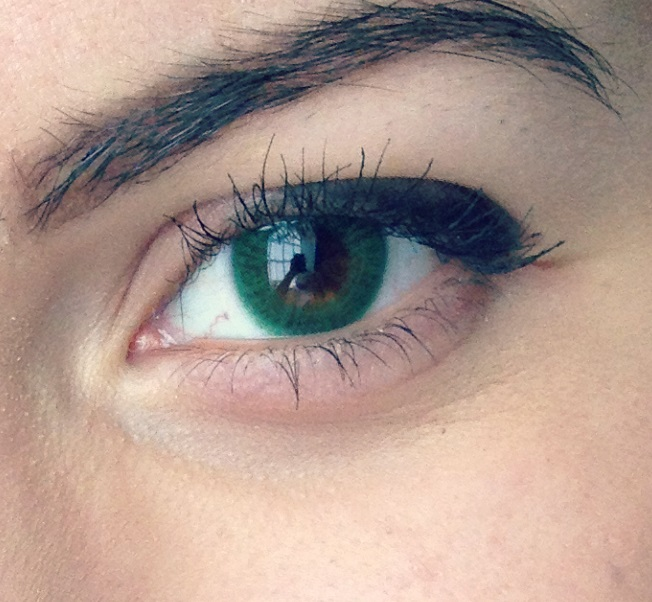Freshlook Dimensions Sea Green >> The gallery for --> Gemstone Green Contacts On Brown Eyes