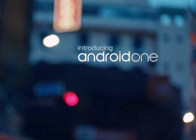 Android one Intro