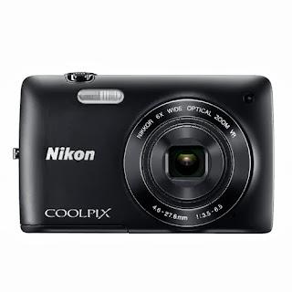 Nikon Coolpix S4400 Hitam