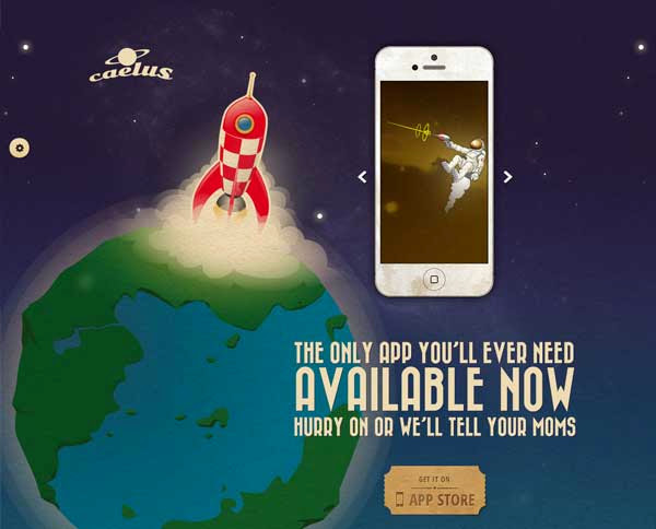 Caelus – App Landing & Coming Soon WP Theme