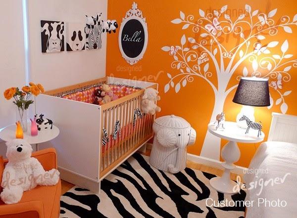 126Природные Детские комнаты дизайн интерьера фото
