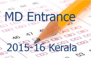 M D Homoeopathy Entrance Exam 2015-16 Kerala