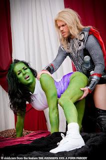 Marvel avengers swallow xxx lexi ms