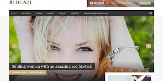 Blogari Blogger template