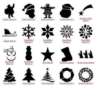 Beauty & Passion: Decorare la tovaglia natalizia con gli stencil