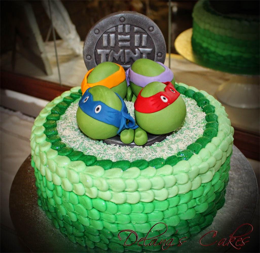 Delana S Cakes Ninja Turtles Cake