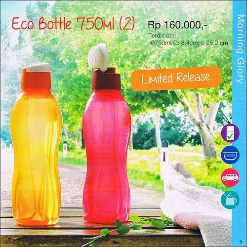 Tupperware Promo eco bottle