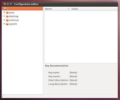 Gconf editor Ubuntu Desktop