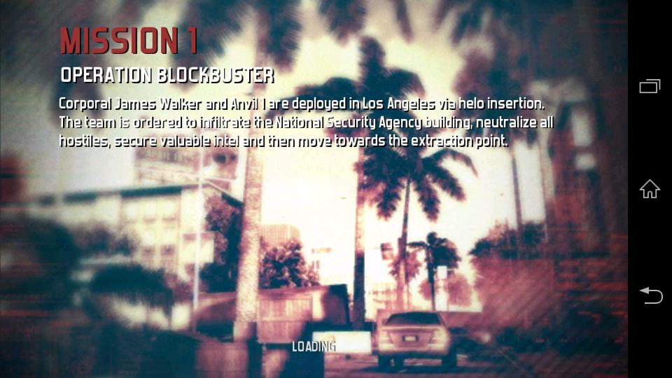 Modern Combat 3: Fallen Nation Apk Data