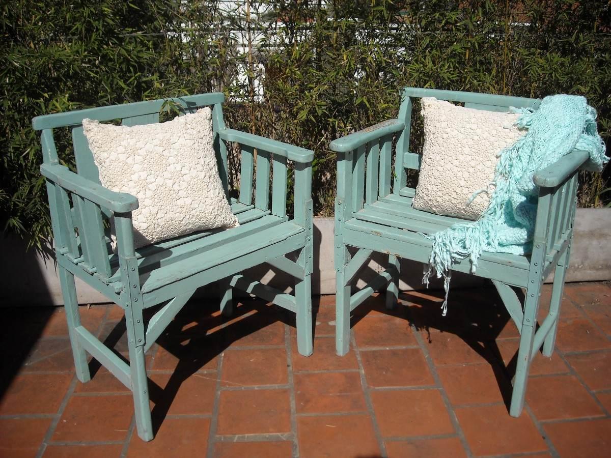 Muy antiguos, ideales como sillones de jardu00edn
