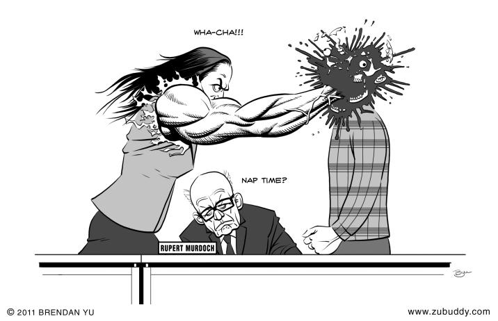 Wendi Murdoch Protects