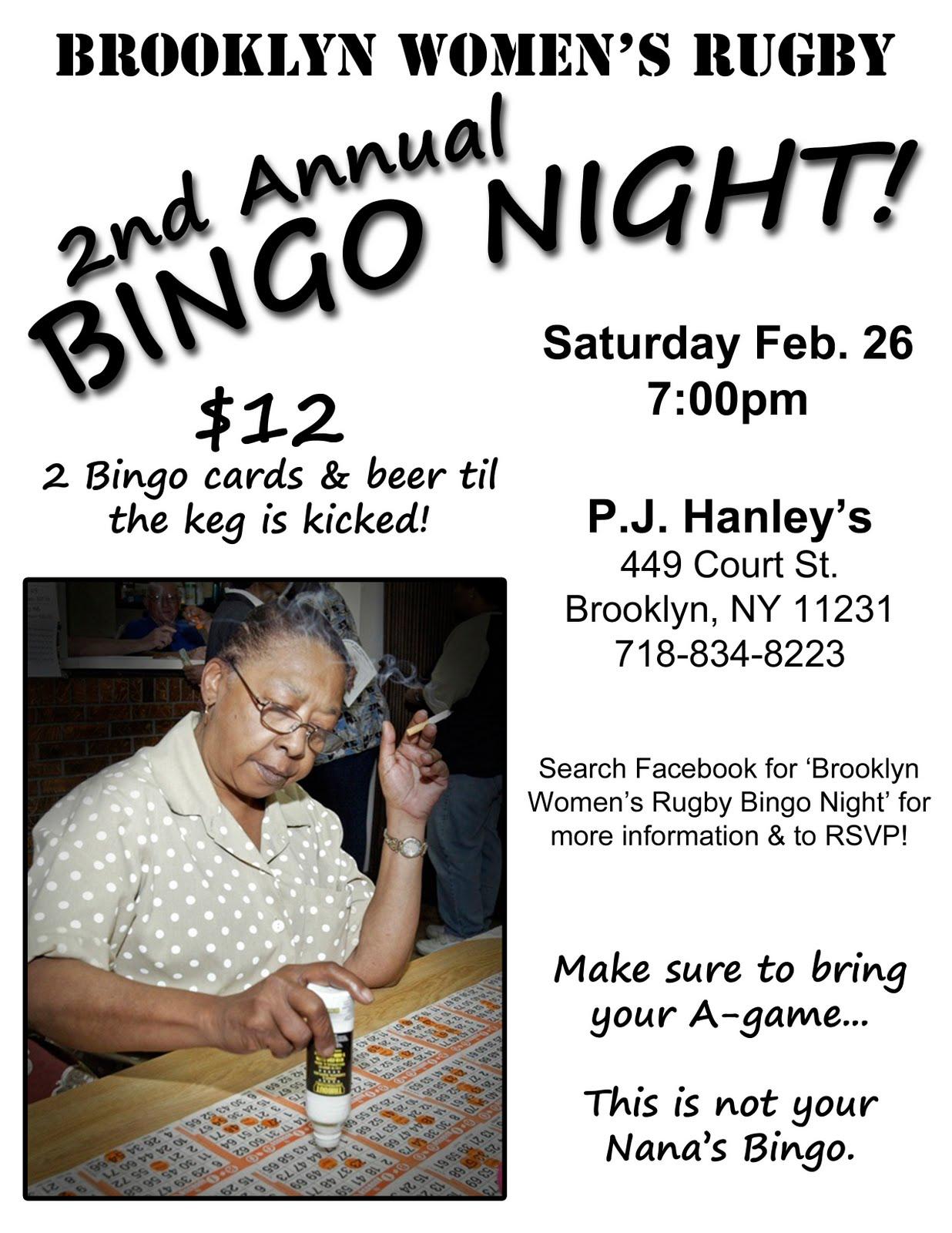 Bingo Flyers Templates Free
