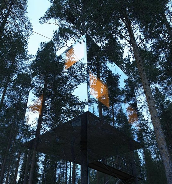 Swedish tree house