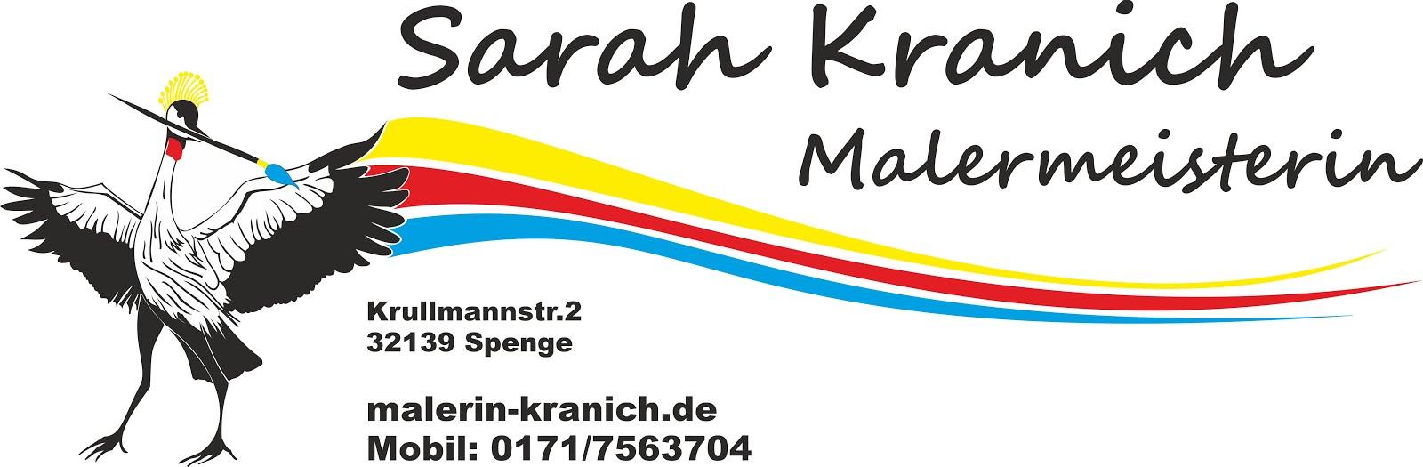 Malermeisterin Sarah Kranich