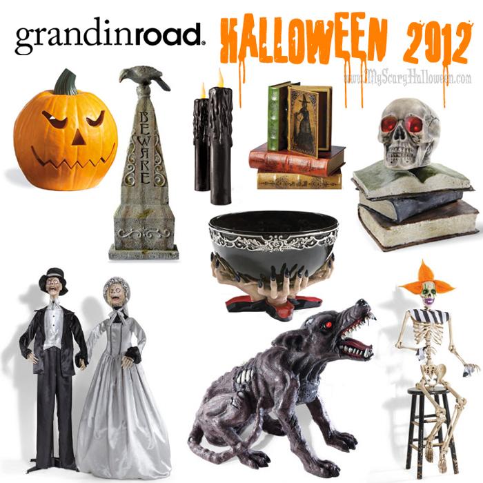 grandin road halloween 2012