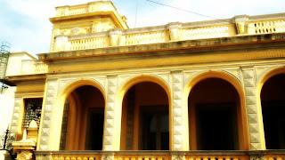 Atual Fachada do Palacete Pedro Osório, em Bagé.