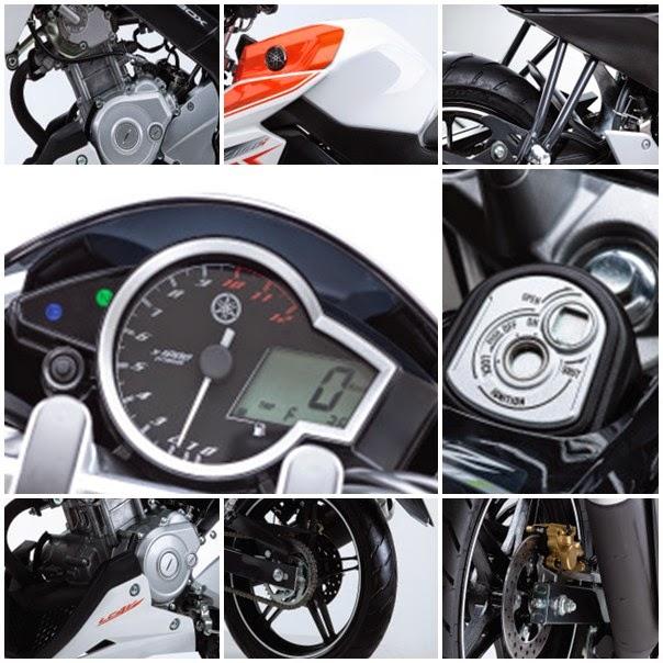 Yamaha FZ150i 2014 - Harga Dan Spesifikasi