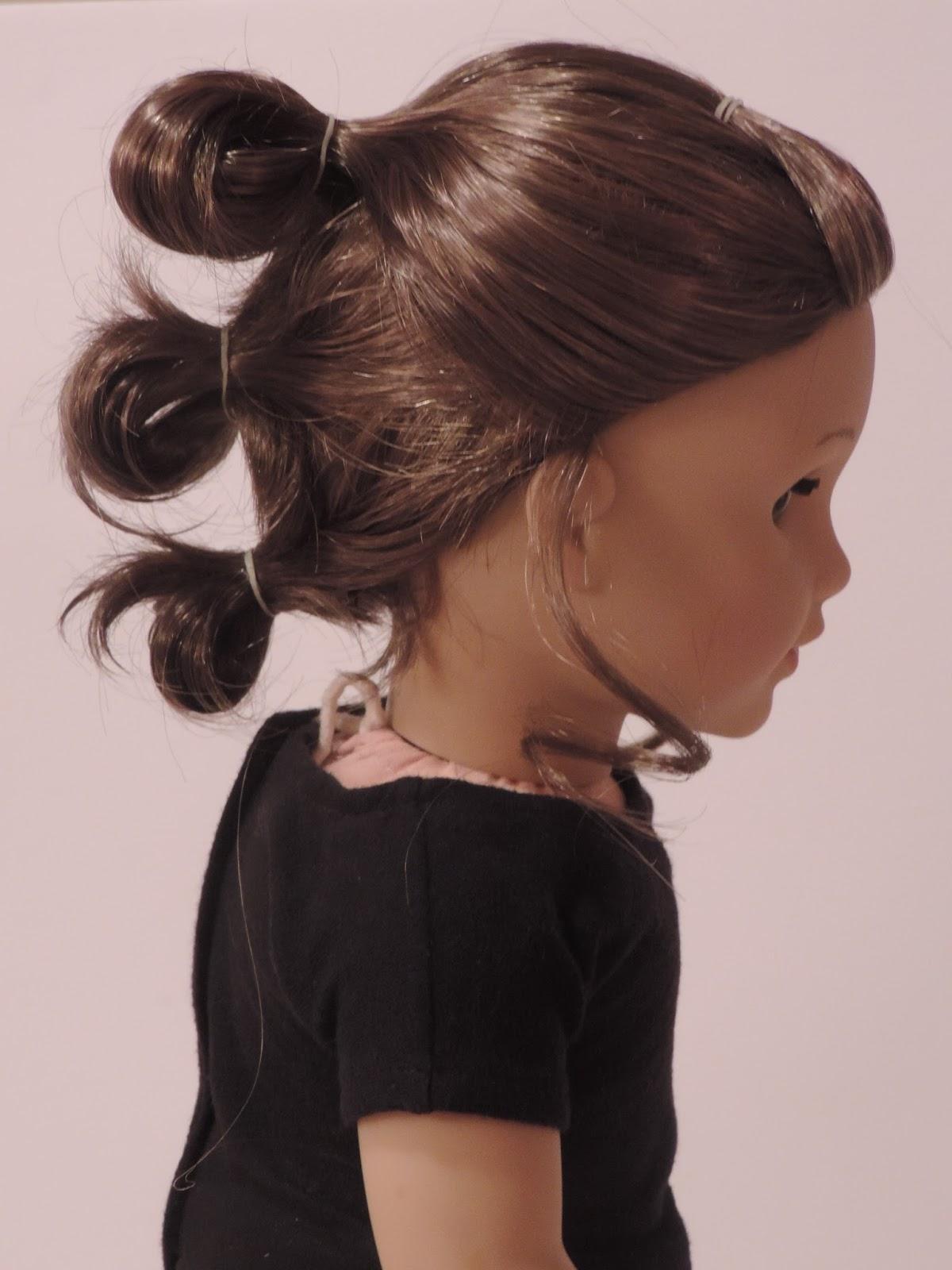 Reverie Dolls: Star Wars Rey Hairstyle