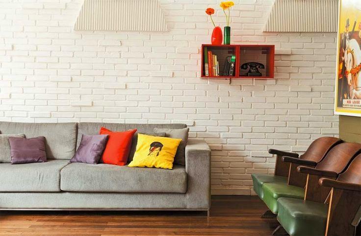 Fácil Revestir Revestimento tijolo branco ~ Revestimento Tijolo Quarto