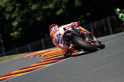 Sapu Bersih, Marquez Raih Pole di Kualifikasi GP Jerman