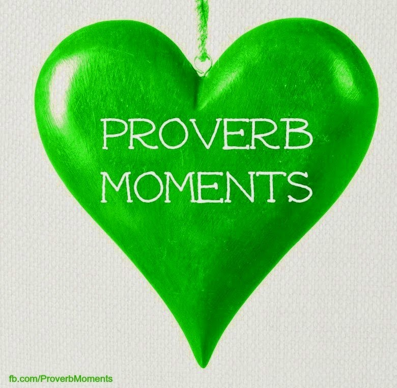 "Check out ""Proverbs Moments"""