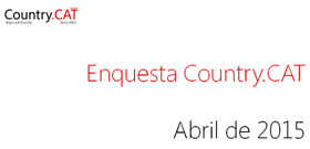 Resultats Enquesta Country 2015