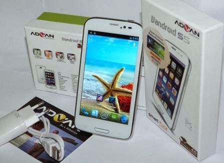 Harga Advan Vandroid Smart Note S5