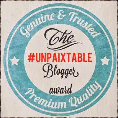 #unpaixtable blogger award