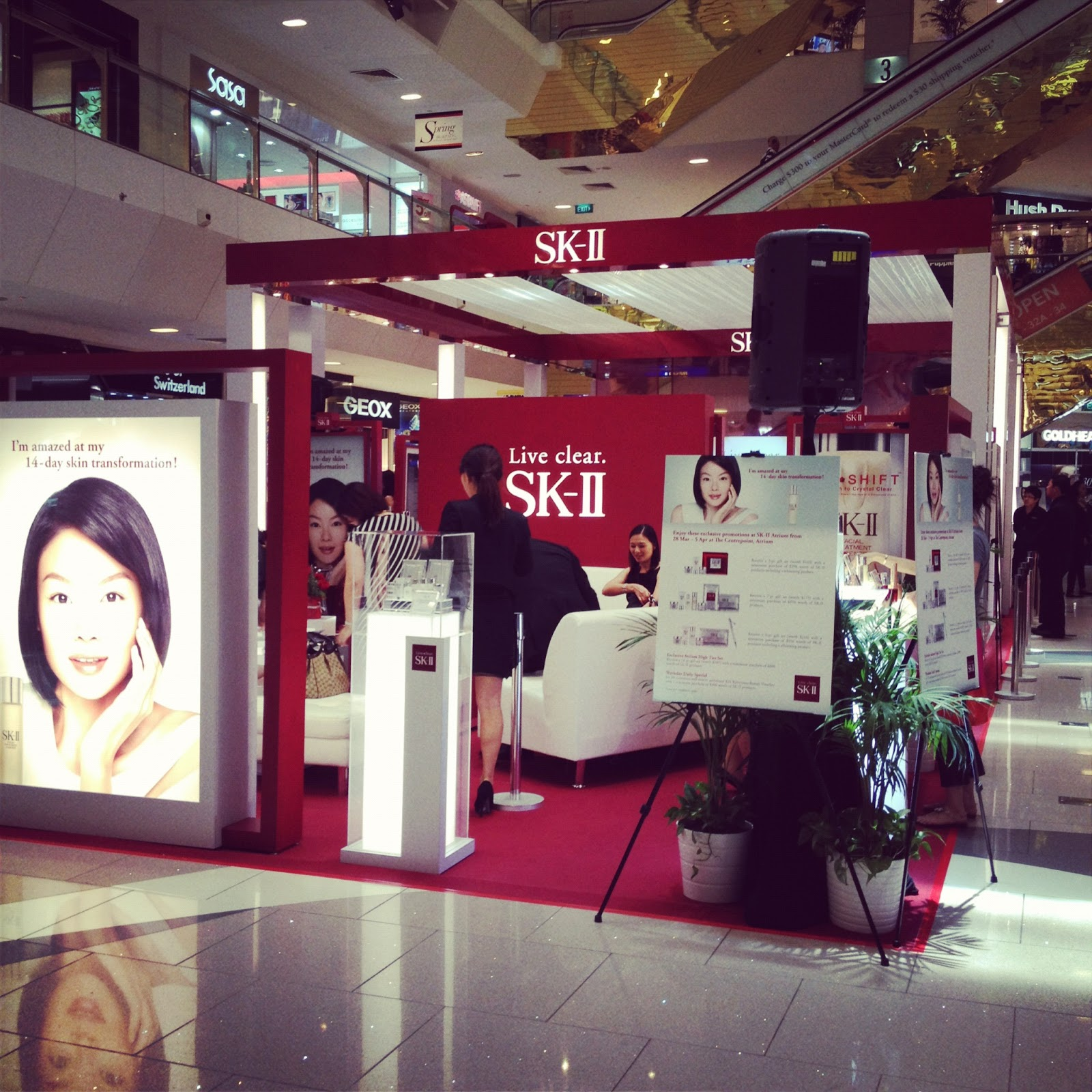 Lee Yeon Hee Promotes SK-II in Singapore, Shares Tips on