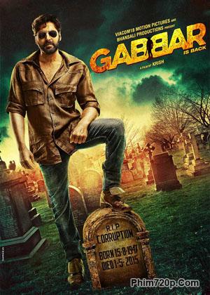Gabbar is Back 2015 poster