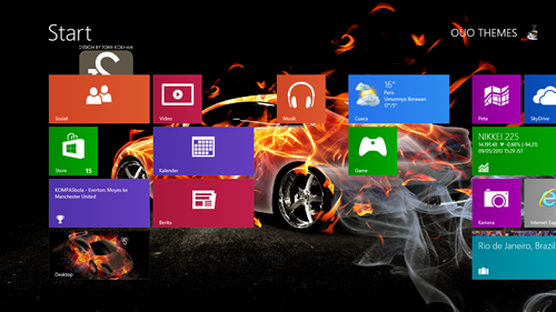 Car Theme For Windows 7 And 8