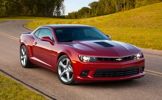 a car Chevrolet Camaro 2014