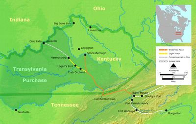 Daniel Boone's Wilderness Trail