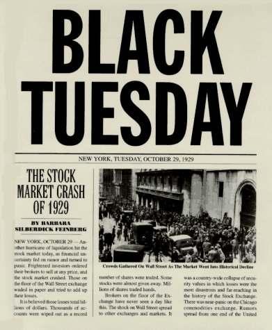 Mas historia crack de 1929 for New york alloggio economico