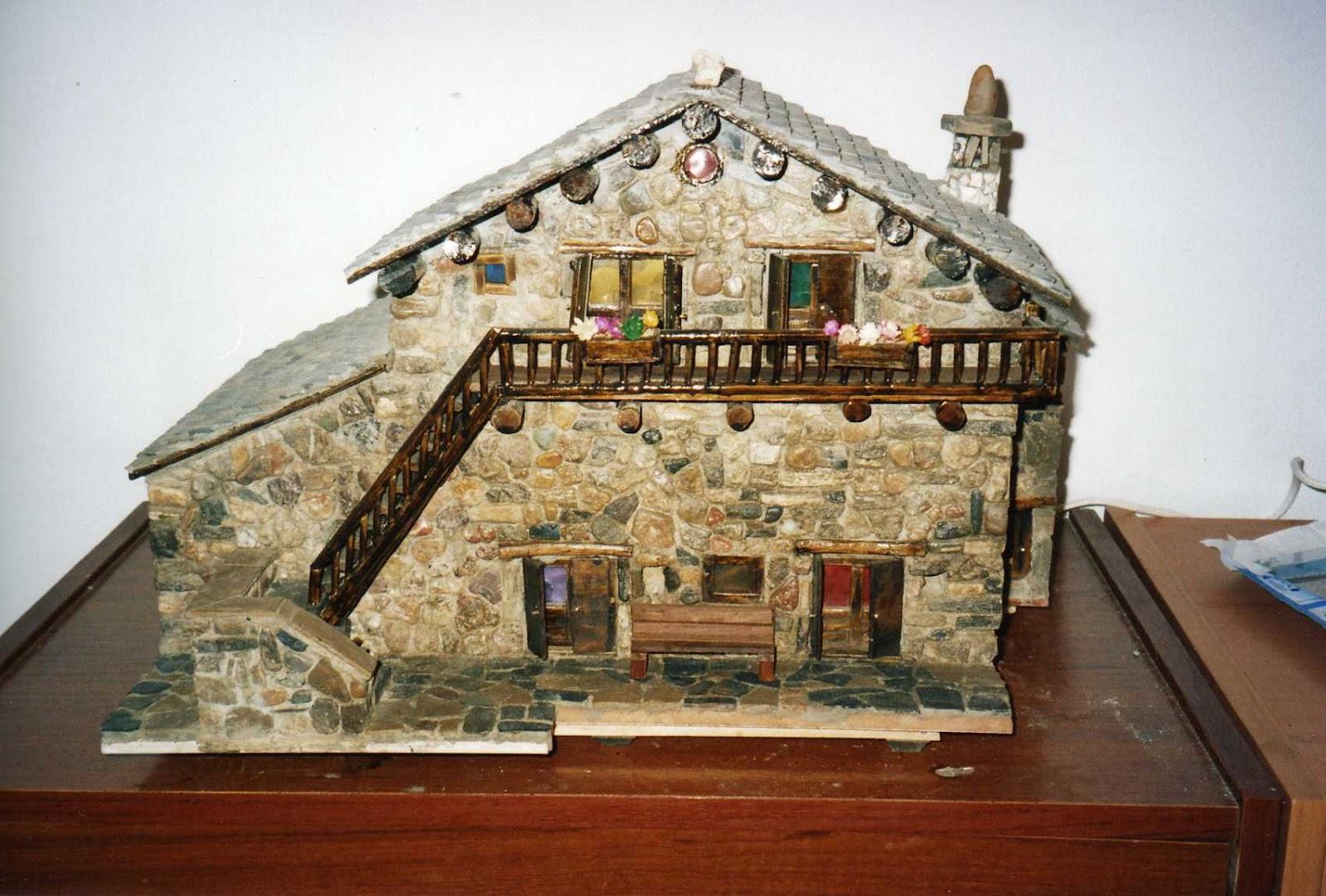 Casas de piedra en miniatura presentacion - Casas miniaturas para construir ...